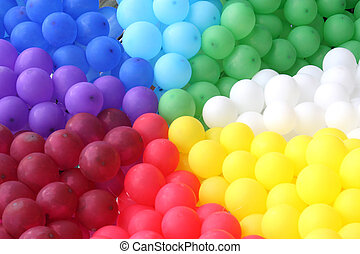 celebratory balloon - Set celebratory color a balloon