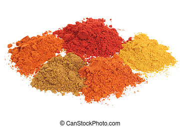 dry spices - Set of dry spices