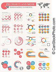 Pie Charts and More - Infographic Elements. Opportunity to...
