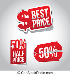 shopping coupons over gray background vector illustration