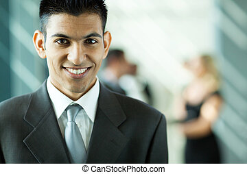 middle eastern businessman - modern young middle easter...