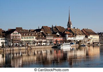 Swiss town Stein am Rhein