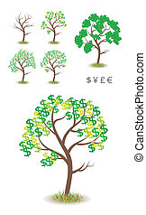 Money Tree Illustration - Smooth and nice detail...