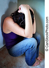 Sexual Assault - Photo illustration of sexual assault -...