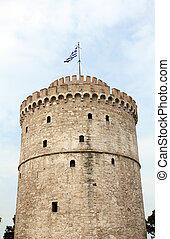 white tower famous Thessaloniki landmark