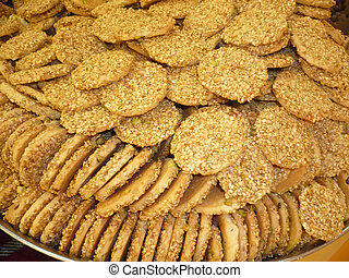 barazek - Large tray of homemade barazek