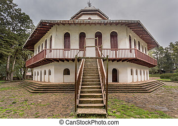 St Raguel Church - St Raguel Ethiopian Orthodox Church built...