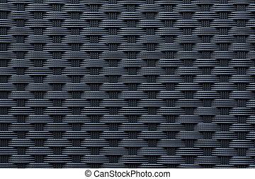 Modern black weave texture - Modern and contemporary plastic...
