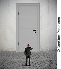 Difficult opportunity - Concept of difficult opportunity and...