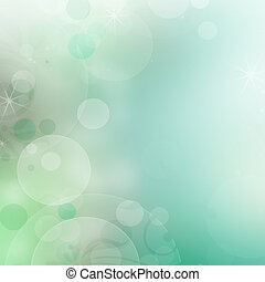 abstract spring background with bokeh effects