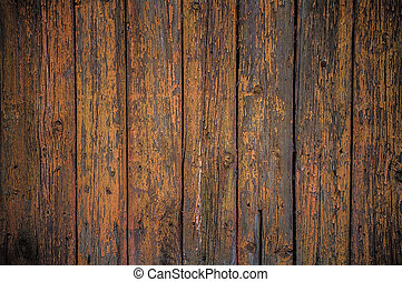 Painted wooden fence background - Background grungy texture...