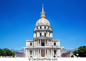 Les Invalides, Paris, France - Hotel national des Invalides...