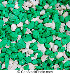 white and green stone texture background