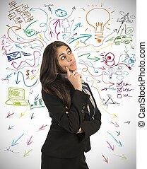 creativo, empresa / negocio, idea