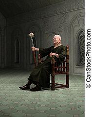 Warlock, Sentado, el suyo, Throneroom