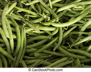 String Beans - a mound of string beans