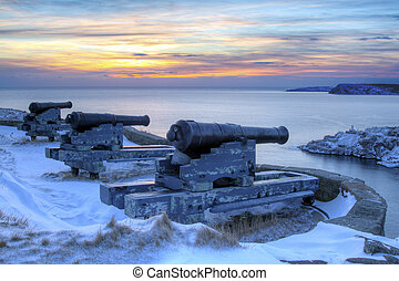 Cannons - Signal Hill, Newfoundland