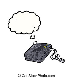 hard drive cartoon