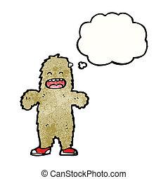 Cartoon Big Foot