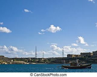 puerto, magnífico