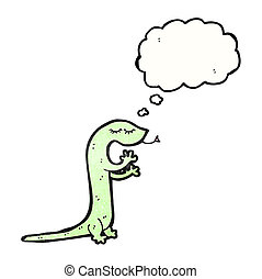 lizard cartoon