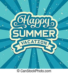 Été, vacances