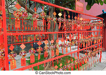 Red Prayer Papers A-Ma Temple Macau - Red Prayer Papers and...
