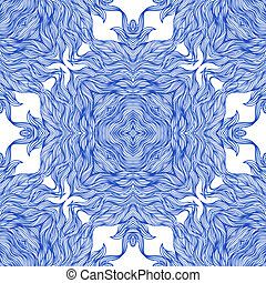 Luxury pattern with thin elegant lines - Luxury vector...