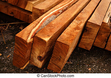 Wood for industrial applications.