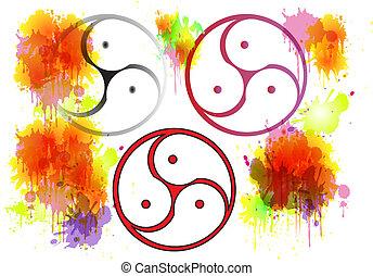 Bdsm Symbols and Splashes