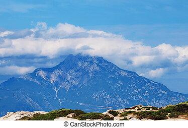 Mountain Athos, chalkidiki,  Greece
