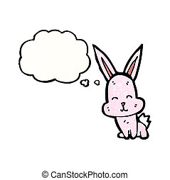 cartoon little rabbit