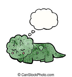 friendly dinosaur cartoon