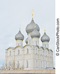 Assumption cathedral in Rostov Kremlin, Russia