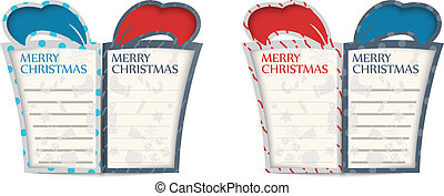 Christmas gift cards design