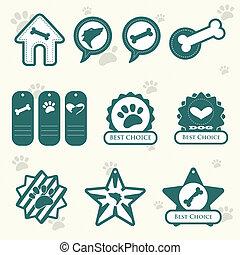 Dog labels