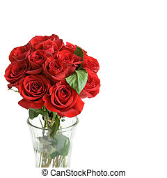 Beautiful Red Roses - One Dozen beautiful red roses in a...