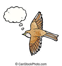 flying bird illustration