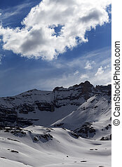 Snow mountains - Snow mountains. Turkey, Central Taurus...