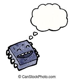 cartoon microchip