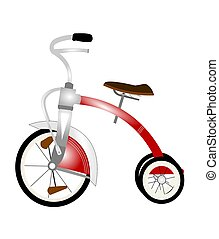 childs red tricycle - popular red tricycle for kids
