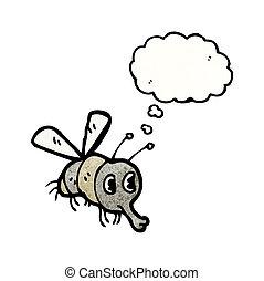 cartoon fly