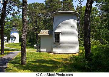 3 Sisters Lighthouses in Cape Cod