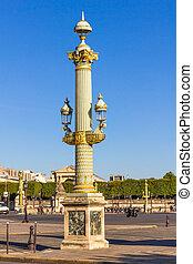 Place de la Concorde square, Paris, France