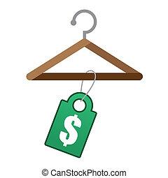 Hanger Price Tag