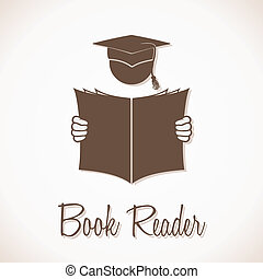 Book Reader Sign