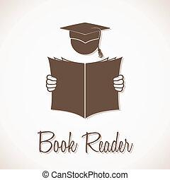 Book Reader Sign