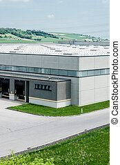 Distribution Center in the Country