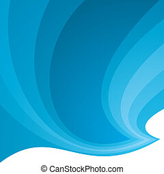 blue swish background - Different shades of blue on an...