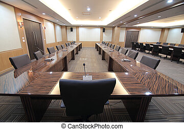 Business meeting room - Business meeting room or boardroom...